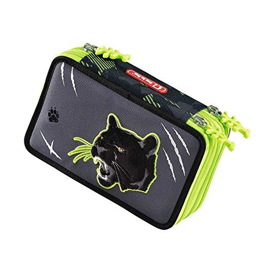 Hama 139202 - Federmäppchen Wild Cat Flash, 3 Fächer