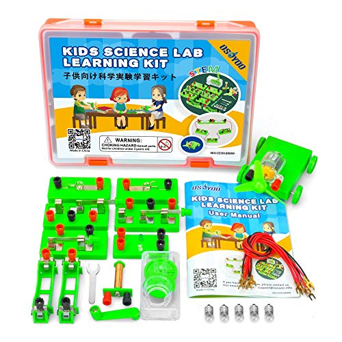 ing kit,Electricity and Magnetism Experiment Set,Building Circuits,for Students in Grades 3-9 ()