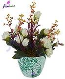 Thefancymart Artificial flowers arrangem...