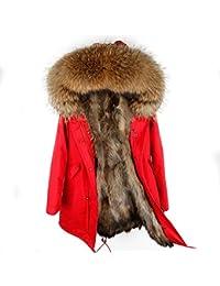 Jacken mit echtem pelzkragen