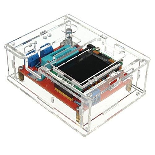 Bluelover Diy/Montierte Gm328 Transistor Tester Dioden-Kapazität Lcr Generator Mit Case Kit-Montiert (Telefon-sets, Mobilteile 3)