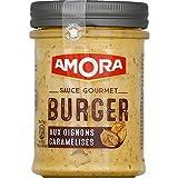 Amora - Sauce Gourmet Burger Aux Oignons Caramélisés - Le Pot De 188 G - Livraison Gratuite Pour Les Commandes En France - Prix Par Unité