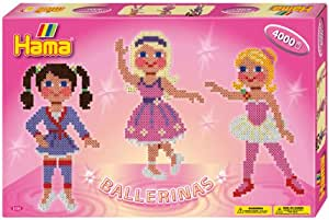 "Hama - 3124 - Loisir Créatif - Midi Boite MM - ""Les Ballerines"""