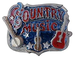 Western Buckle Country Music ° ° ° ° ... Guitare, banjo