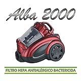 Mx Onda MX-AS2060 Aspirador multiciclonico sin Bolsa, 1400 W, Plástico, Gris Oscuro y Naranja