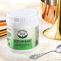 Putz-, Polier- und Reinigungsmittel Wiener Kalk (500g) - Ökologisch und frei von Chemikalien & Zusatzstoffen