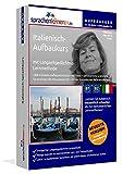Italienisch-Aufbaukurs: Lernstufen B1+B2. Lernsoftware auf CD-ROM + MP3-Audio-CD für Windows/Linux/Mac OS X. Fließend Italienisch lernen für Fortgeschrittene mit Langzeitgedächtnis-Lernmethode - Sprachenlernen24