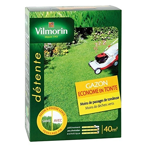 Vilmorin - Gazon économe en tonte