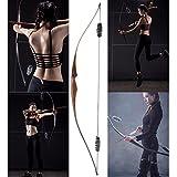 """54"""" RH klassischer englischer laminierter Langbogen Toparchery 20lbs/30lbs für Jugendliche und Kinder traditionelle Bögen Bogensport Bogenschießen"""