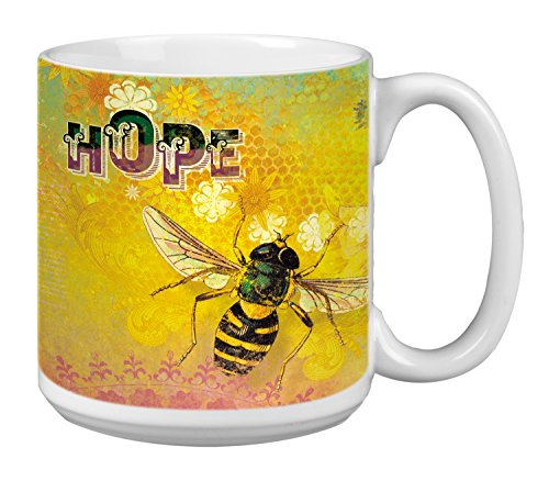 Tree Free Grußkarten XM29550 20 oz XL'Hope, Motiv Bienen Kaffeetasse aus Keramik