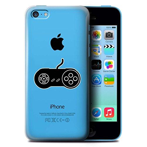 Coque de Stuff4 / Coque pour Apple iPhone 5C / Xbox One Blanc Design / Manette Jeux Vidéo Collection SNES Noir