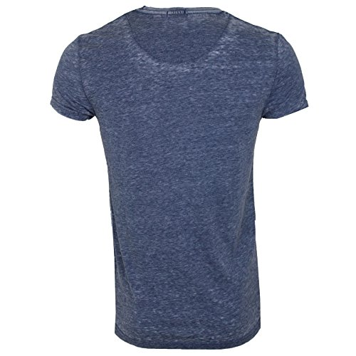 Brave Soul Herren T-Shirt * Denim Navy