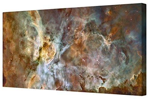 canvart-carina-nebula-hubble-deep-space-canvas-framed-print-artwork-xl