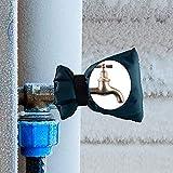 Syujin Wasserhahn Socken 3 Stück Frost Jacke Outdoor Tap Cover Outside Protector Isolierte Wasserhahn Handschuh Winter Wasserleitungen Durable Cover Schutzhülle