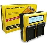 Double / Dual LCD Chargeur de Batterie NP-F950 / NP-F960 / NP-F970 pour Sony Camcorder Sony CCD-TR Series | CCD-TRV Series | Sony DCR-TR Series | Sony DCS-CD | Sony MVC-FD Series et bien plus encore…