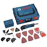 Bosch Professional Multi-Cutter Pro Kit in L-Boxx con accessori, 48 pezzi, 601230071