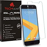 TECHGEAR® Verre Trempé pour HTC 10, Protecteur d'Écran Original en Verre Trempé Compatible pour HTC 10