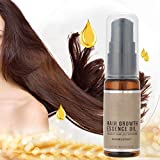 Sérum de croissance des cheveux, Huile de ginseng liquide anti-perte de cheveux...