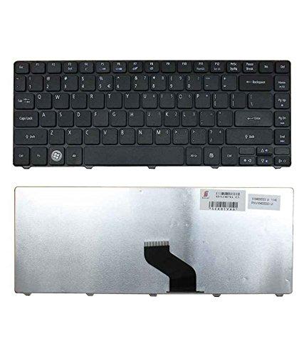 Fugen Laptop Internal Keyboard US for Acer Aspire 4736 4740G 4738 4738G 4738Z 4738ZG 4745 4745G 4745Z 4625 4625G 4743 4743G 4743Z 4741 4741G 4741Z 4741ZG 4750 4750G 4820 4820G 4820T 4820TG Series 100% Original Look