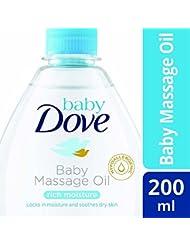 Baby Dove Rich Moisture Baby Massage Oil, 200 ml