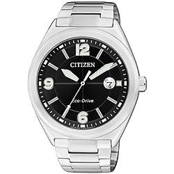 Citizen Herren-Armbanduhr XL Analog Quarz Edelstahl AW1170-51E