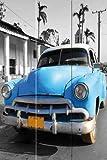 Paravent Paravant Raumteiler Cab Drive / Oldtimer Havanna