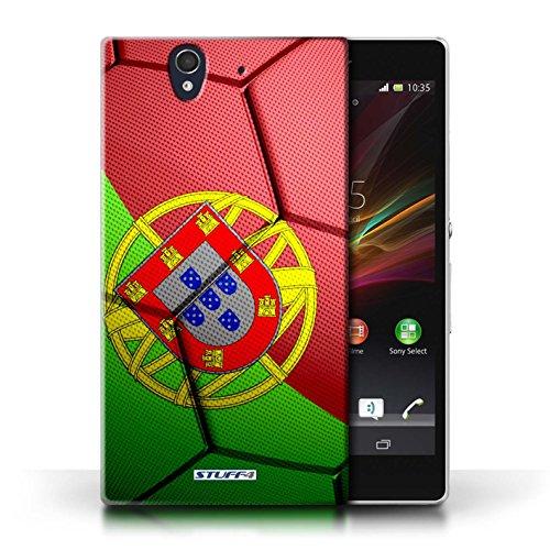 Kobalt® Imprimé Etui / Coque pour Sony Xperia Z / Angleterre conception / Série Nations de Football Portugal