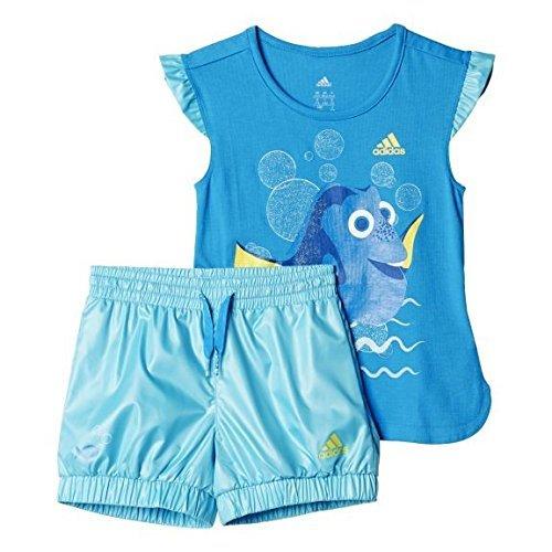 adidas Kinder Shorts LK DYQ FN, Blau, 98, 4055017503538 (Findet Nemo Shirt Kleinkind)