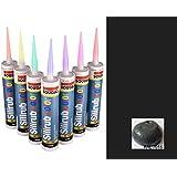 Anthracite Grey Premium Silicone Caulk mastic Sealant RAL7016