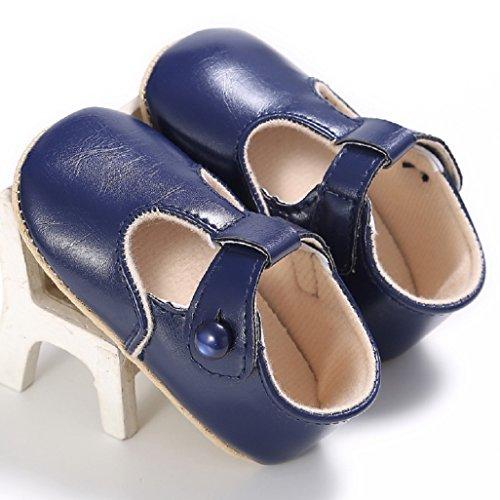 Baby 12 Blau Wanderschuhe 12 Rutschfeste Erste Prinzessin Weiß Monate 18 Schuhe 0 Für Sohle Auxma M Tiefes 6 Weiche gnrwqSg1