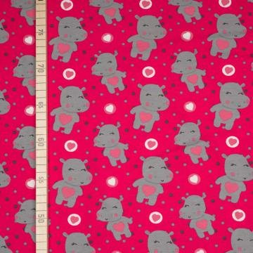 Sweet Hippo - Pink - Jersey