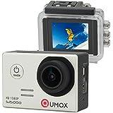 QUMOX SJ5000 Sport kamera digital camera Action Camera instagram camera Kamera HD-Camcorder 2.0 Zoll-2 ''170 ° Objektiv instagram kamera waterproof camera wasserdicht Kamera mit Verbesserten Batterien und Zubehör Kits Silber