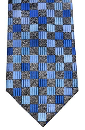 OCIA® Corbata de microfibra fina con estampado a cuadros elegante para hombres - ED02 Original
