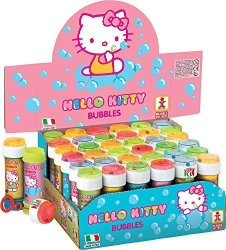Fancy Me Packung 36 OR 6 Girls Kinder Hello Kitty Blasen Party Beutel strumpffüller Spielzeug - Hello Kitty, 6 Pots