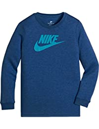 Nike NSW TEE LS Future Overdye, Kids Long Sleeve Shirt, baby, NSW TEE LS FUTURA OVERDYE