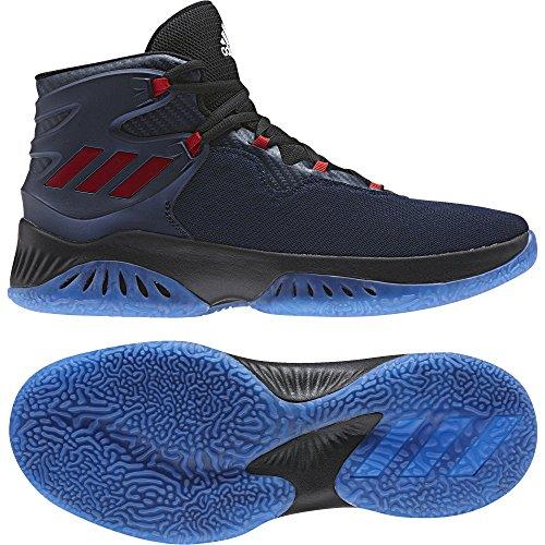 adidas Unisex-Erwachsene Explosive Bounce Basketballschuhe (Maruni/Escarl/Negbas) 40 EU