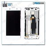 ECRAN LCD + VITRE Tactile + Frame pour Sony Xperia XA Blanc + Outils