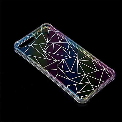 """Apple iPhone 7 Plus 5.5"""" Hülle, SATURCASE Schönes Muster Überzug Ultra Dünn Weich TPU Gel Silikon Schützend Zurück Case Cover Tasche Schutzhülle Handyhülle für Apple iPhone 7 Plus 5.5"""" (Design-1) Design-7"""