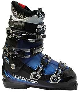 Ski Boot Men Salomon Mission Lx Black Blue Black Amazon