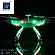 Cheerson CX-20 Quad Copter – 10 M per Second, GPS Hold, Auto Return, 300 m Remote Range, Camera Mount, 2700 mAh Battery