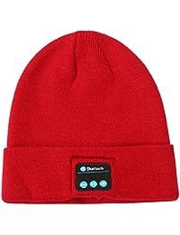 PANGOIE,Cappello Beanie Bluetooth Auricolare Unisex Cappello A Maglia Beanie 05d35c15db8c