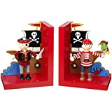 Orange Tree Toys : Pirate Wooden Bookends