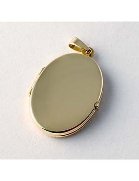 ASS 333 Gold Medaillon Anhänger,