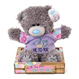 "Me to You SG01W4095 6-Inch Tall ""Tatty Teddy A Hug From Bear Sits"" Plush Toy"