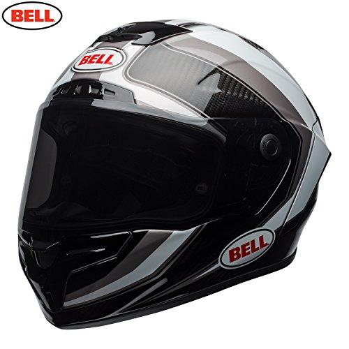 Bell caschi Racestar settore, bianco/titanio, taglia S