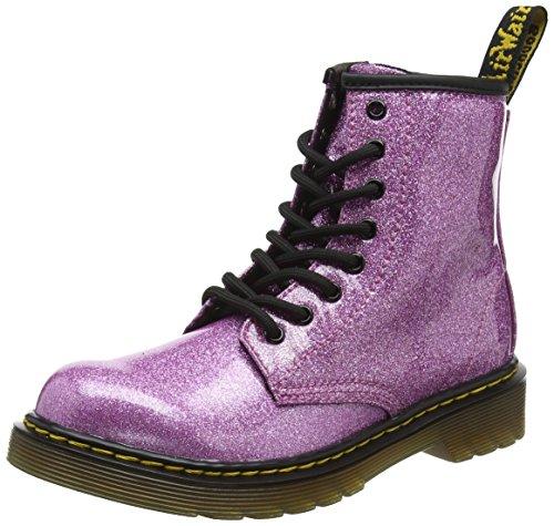 Dr. Martens Mädchen 1460 Glitter J Kurzschaft Stiefel, Dark Pink 960, 36 EU (Doc Für Schuhe Mädchen Martens)