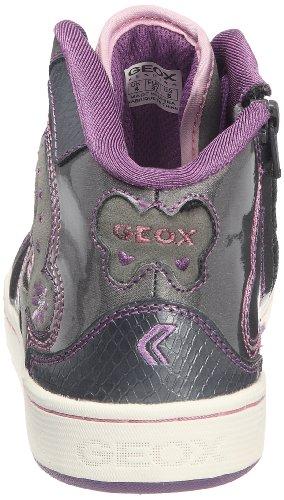 Geox  J MANIA J, Baskets pour fille Gris - argent