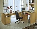 moebel-eins OFFICE COMPACT Winkelkombination, Buche