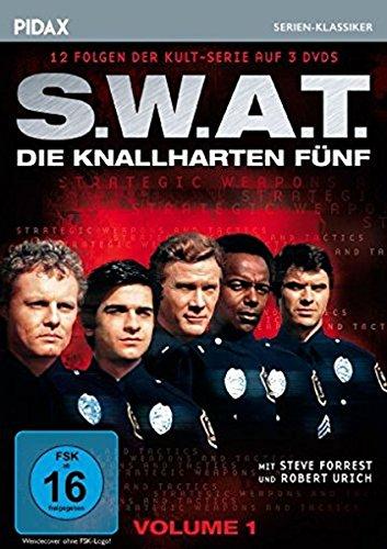 Die knallharten Fünf, Vol. 1 (S.W.A.T.) / 12 Folgen der Kult-Serie (Pidax Serien-Klassiker) [3 DVDs]