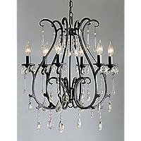 FPP moderno 6 - cristallo caratteristica candela lampadari luce ,